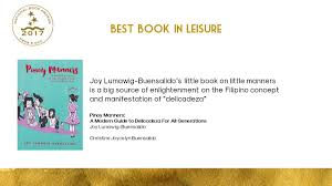 Nbdb Philippines On Twitter Citation For Best Book In Leisure