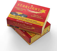 Best Instant Light Charcoal Starlight Charcoal 1 Box 10 Rolls 100 Tablets