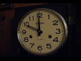 linden 31 day wall clock you