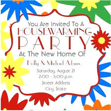 House Warming Party Invitation Housewarming Party Invite Template