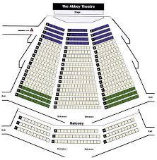 Gaiety Theatre Dublin Seating Chart Abbey Theatre Dublin Seating Plan View The Seating Chart