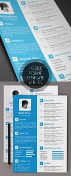 Beautiful Resume Template Psd With Cv Resumetemplates Freebies