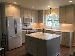 Cottage Kitchen Furniture My New Cottage Kitchen Custom Cabinets In Bm Revere Pewter Walls