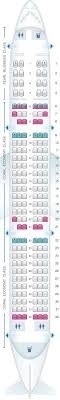 Aircraft A321 Seating Chart Seat Map Etihad Airways Airbus A321 200 Seatmaestro