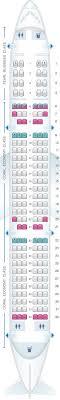 321 Seating Chart Seat Map Etihad Airways Airbus A321 200 Seatmaestro
