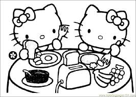 Check the settings for the printer. Free Printable Hello Kitty Coloring Pages Coloring Home