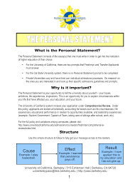 Personal Statement Examples For University University Personal Statement Format Templates At
