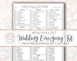 bridal checklist bridal shower checklist minimalist printable bridal etsy