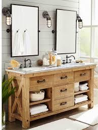 creative distressed wood bathroom vanities using rustic white oak old bathrooms bathroom vanities and cabinets