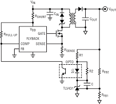 Dc Dc Converter Design Examples No Opto Flyback Dc Dc Converters Snubber Protection