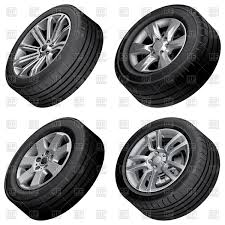 tires and rims clipart. Wonderful Tires Set Of Car Wheels Vector Image U2013 Artwork Objects  Vectorroom  113480 Click To Zoom Inside Tires And Rims Clipart L