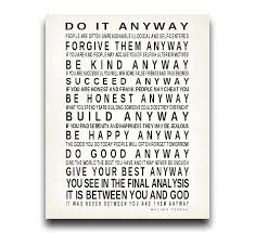 Mother Teresa Quotes Love Them Anyway Gorgeous Download Mother Teresa Quotes Love Anyway Ryancowan Quotes Free
