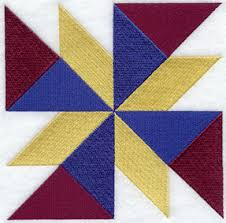 Twisted Star Quilt Block - Sm design (B1402) from www.Emblibrary ... & Twisted Star Quilt Block - Sm design (B1402) from www.Emblibrary.com Adamdwight.com