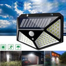 Solar Powered Motion Detector Security Lights Arilux 100 Led Solar Powered Pir Motion Sensor Wall Light Outdoor Garden Lamp 3 Modes