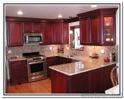 kitchen wall colors with cherry cabinets. Marvelous Cherry Kitchen Cabinets At Best Paint Color For Colors Wall With E