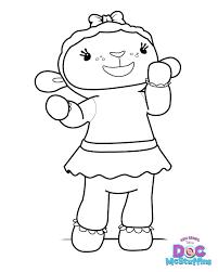 Lambie The Lamb Doc Mcstuffins Coloring Pages Get Coloring Pages