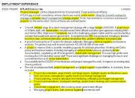 how to highlight skills in a project management cv pm blog .