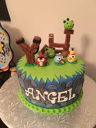 Angry birds cake …