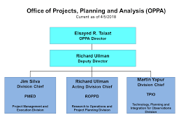 Project Organization Chart Stunning OPPA The Office Of Projects Planning And Analysis