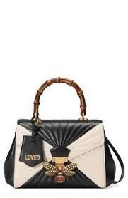 gucci bags at nordstrom. gucci queen margaret bee matelassé leather top handle satchel available at #nordstrom bags nordstrom b
