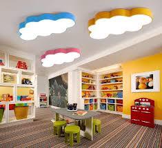 colors iron acrylic led ceiling light