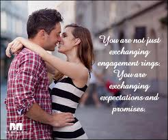 Promise Ring Quotes Amazing 48 Engagement Quotes Perfect For That Special Moment