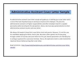 Cover Letter For Administrative Secretary Inspirational Examples