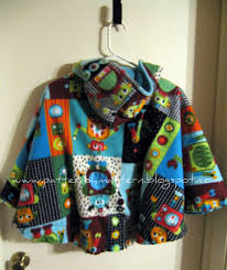 Baby Poncho Sewing Pattern