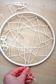 What To Use For A Dream Catcher Hoop DIY Hula Hoop Dream Catcher 56