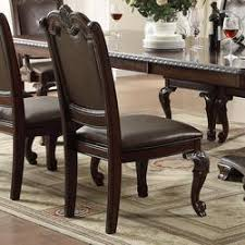 743 85 kiera traditional dining side chair with upholstered seat and back