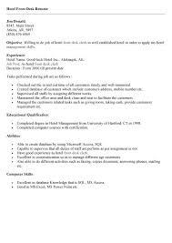 Receptionist Front Desk Resume Sales Receptionist Lewesmr