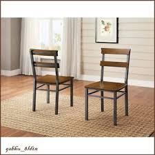 vintage metal dining chairs. Modren Chairs Image Is Loading IndustrialModernDiningChairMetalandWoodRustic Inside Vintage Metal Dining Chairs D