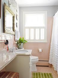 retro pink tiled bathrooms