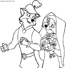 Small Picture Disney Coloring Pages Robin Hood Coloring Pages