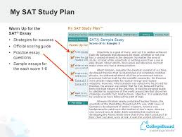 psat nmsqt ® student feedback paper score report plus my  10 my sat study plan warm up for the sat ® essay strategies for success official scoring guide practice essay questions sample essays for the each score 1 6