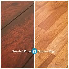 beveled edge vs square edge beveled laminate flooring