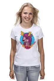 """Женские футболки c эксклюзивными принтами """"<b>лошадь</b>"""" - купить ..."""