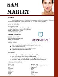 latest resume format sample 25 unique latest resume format ideas