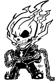 Ghost Rider Chibi by Creeeeeees on DeviantArt