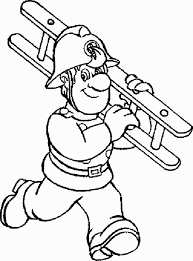Small Picture Fireman 4 coloring page