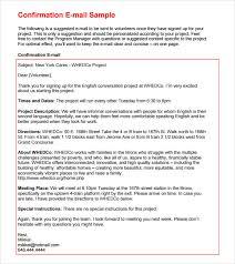 mail sample 8 sample confirmation emails vector eps psd pdf