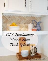 Diy Backsplash Easy And Inexpensive Back Splash Ideas