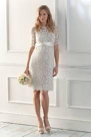 knee length sheath column jewel half sleeve zipper lace maternity