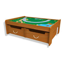 Train Set Table With Drawers Other Kidkraft Transportation Station Train Set And Table Was