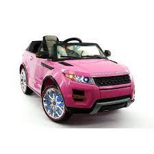 Range Rover 12v Kids Ride On With Remote Control And Mp4 Kids Ride On Pink Range Rovers Kids Ride On Toys