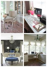 ideas for home office decor. 73 Refined Feminine Home Office Decor Ideas For