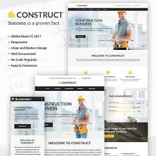 Business Portfolio Template 25 Best Creative Business Portfolio Adobe Muse Templates