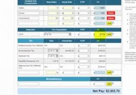 Simple Paycheck Calculator Pa Tax Calculator Custom Template Of Income Tax Guide For The Simple