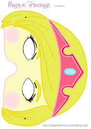 Masque Princesse Imprimer Mask Pinterest Felt Mask Mardi