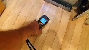 cupping hardwood floor was wet